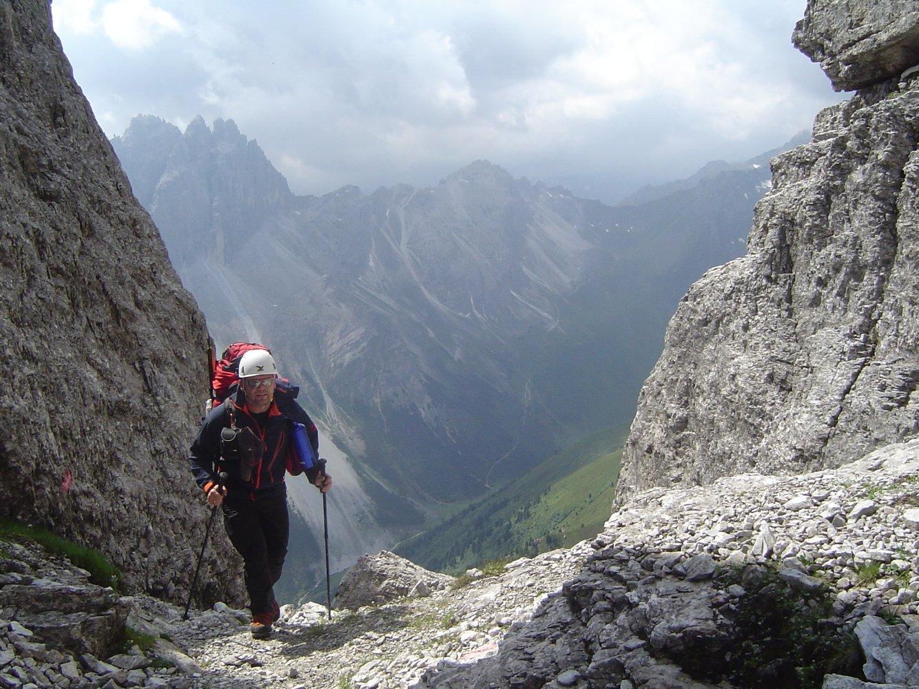 Klettersteig Ilmspitze : Ilmspitze klettersteig bergsteigen