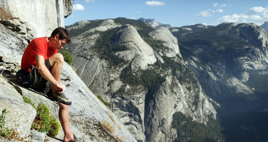 Klettersteig Yosemite : Freerider erste el capitan free solo bergsteigen.com