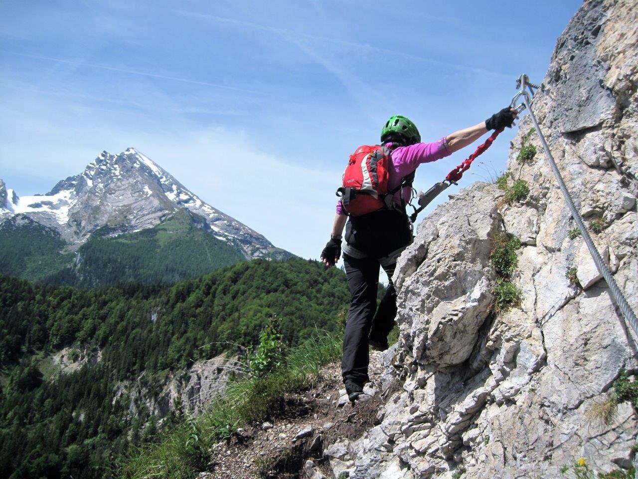 Klettersteig Königssee : Schönau am königssee mit hubschrauber aus klettersteig gerettet