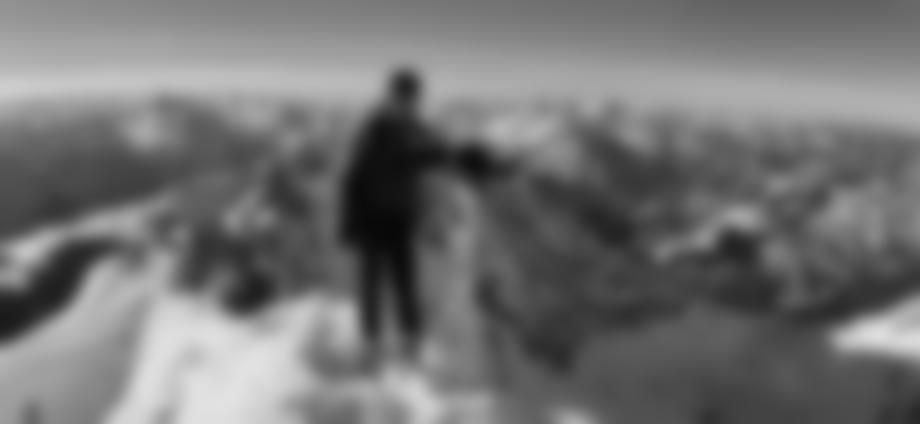 Auf dem Gipfel der Hocheisspitze.
