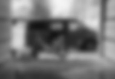 Je kleiner der Van, desto kreativer muss in manchen Situationen der Stellplatz sein (c) Andreas Jentzsch