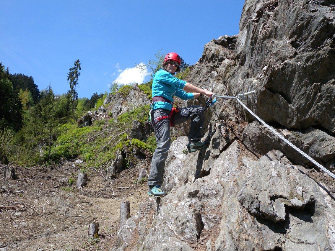 Klettersteig Talbach : Klettersteig zillertal touren mit bergführer