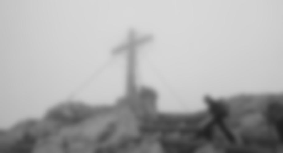 Das Europakreuz auf dem Gr. Kinigat