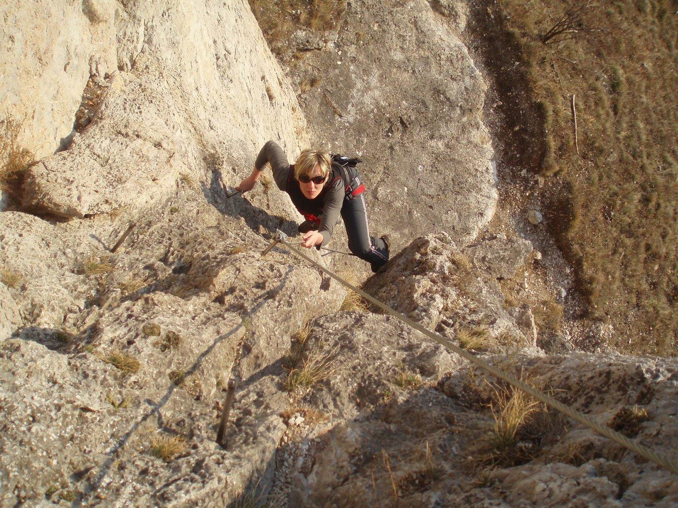 Klettersteig Türkensturz : Pittentalersteig pittentaler klettersteig bergsteigen