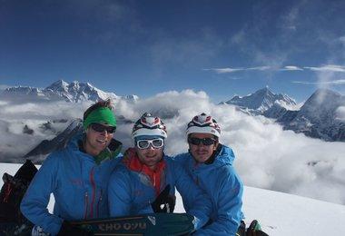 Auf dem Gipfel des Mera Peak