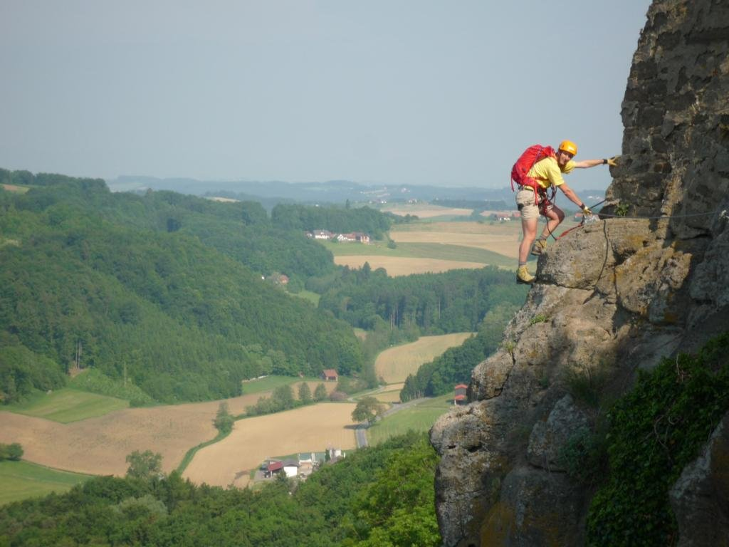 Klettersteig Liechtenstein : Heinrich klettersteig riegersburg bergsteigen