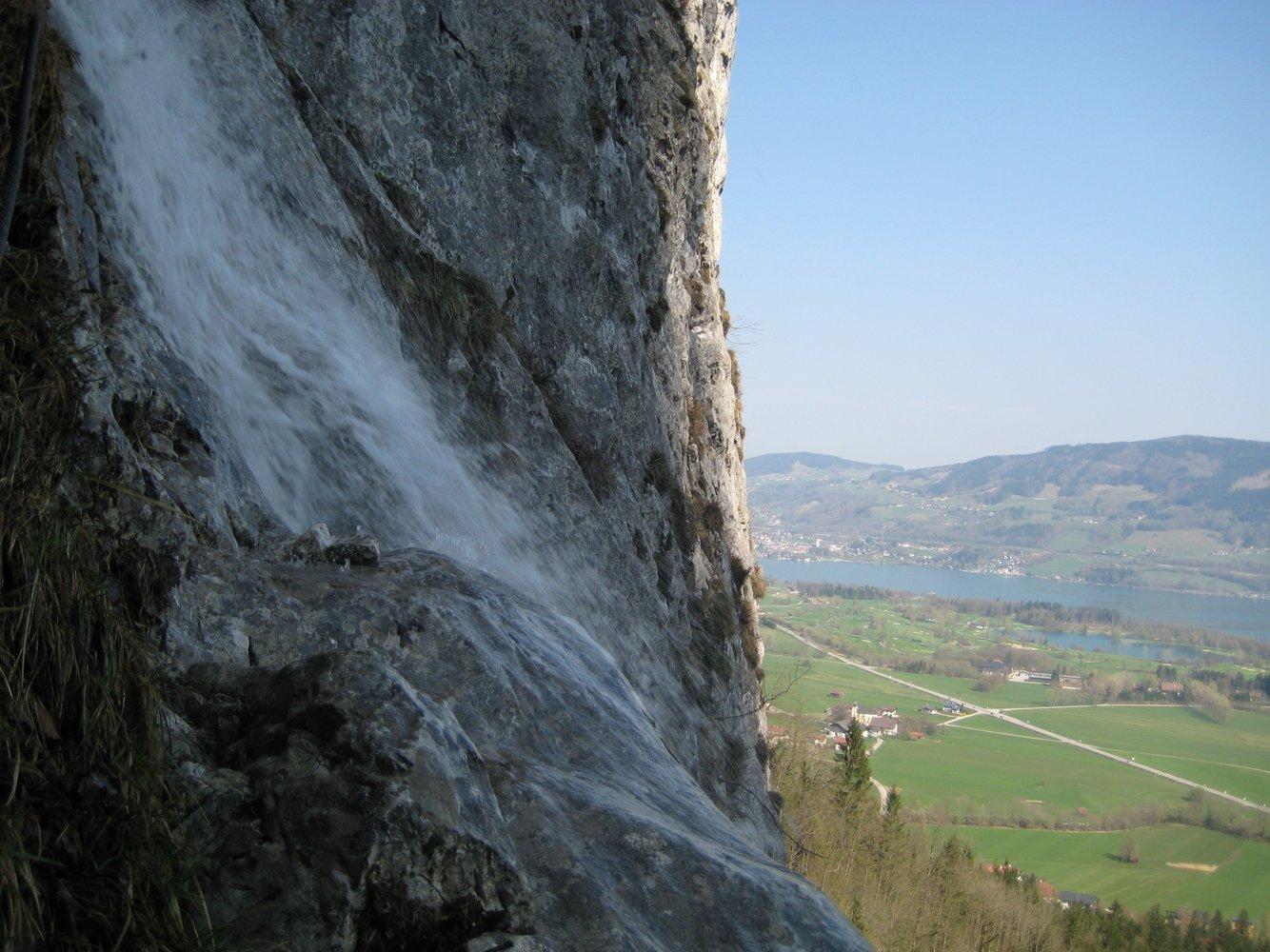 Klettersteig Drachenwand : Drachenwand klettersteig bergsteigen
