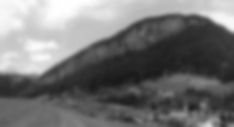 Übersicht Stafflacher Wand Klettersteig mit Zu-, Ab-, und Notausstieg