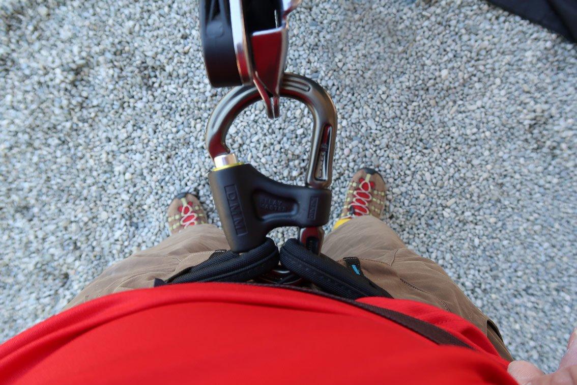 Klettergurt Mit 2 Hms Karabinern : Test belay master von dmm bergsteigen