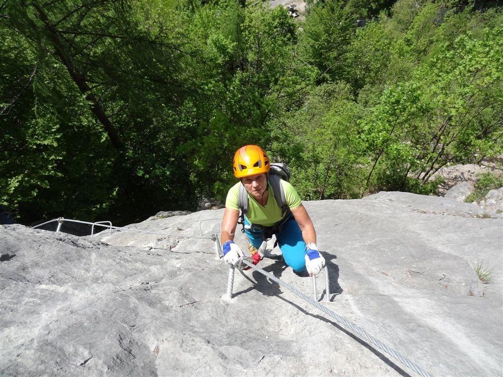 Klettersteig Zahme Gams : Zahme gams klettersteig topo via ferrata feráta