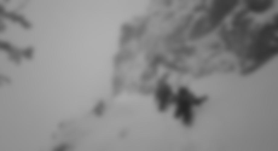Am 27.1.07 bei Schneefall & Sturm