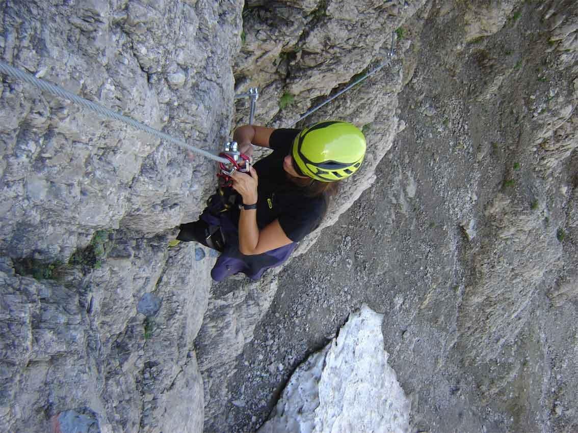 Klettersteig Salewa : Salewa klettersteig bergsteigen.com