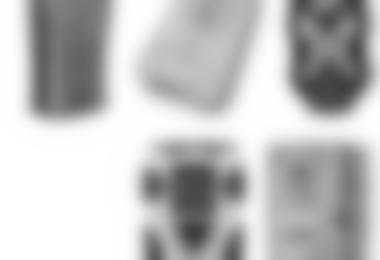 Im Test das Mammut Barryvox Element, das Ortovox 3+, das BCA Tracker 2, das Arva Axis und das Pieps DSP Tour (von links nach rechts)