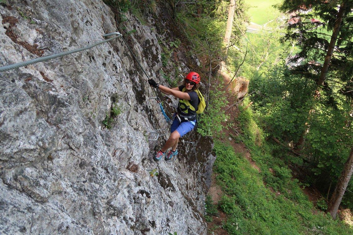 Klettersteig Mayrhofen : Astegg klettersteig bergsteigen.com