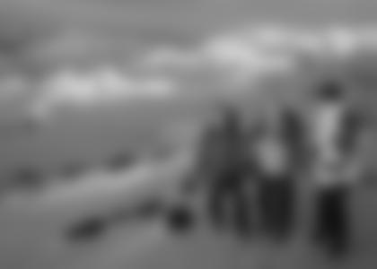 Beim Aufstieg zum Elbrus