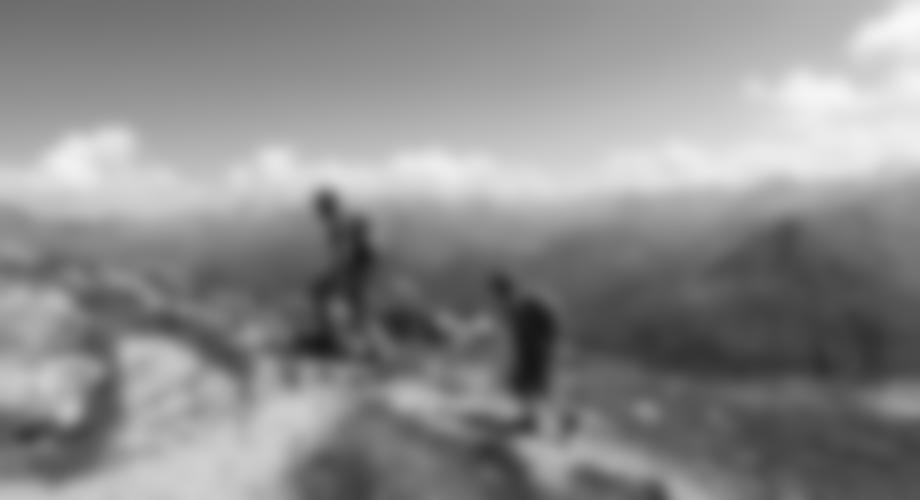 Die letzten Meter vor dem Gipfel.