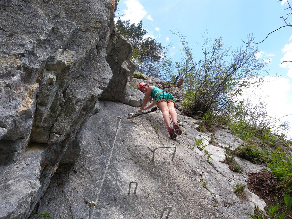 Klettersteig Zahme Gams : Klettersteig die zahme gams in weißbach bei lofer