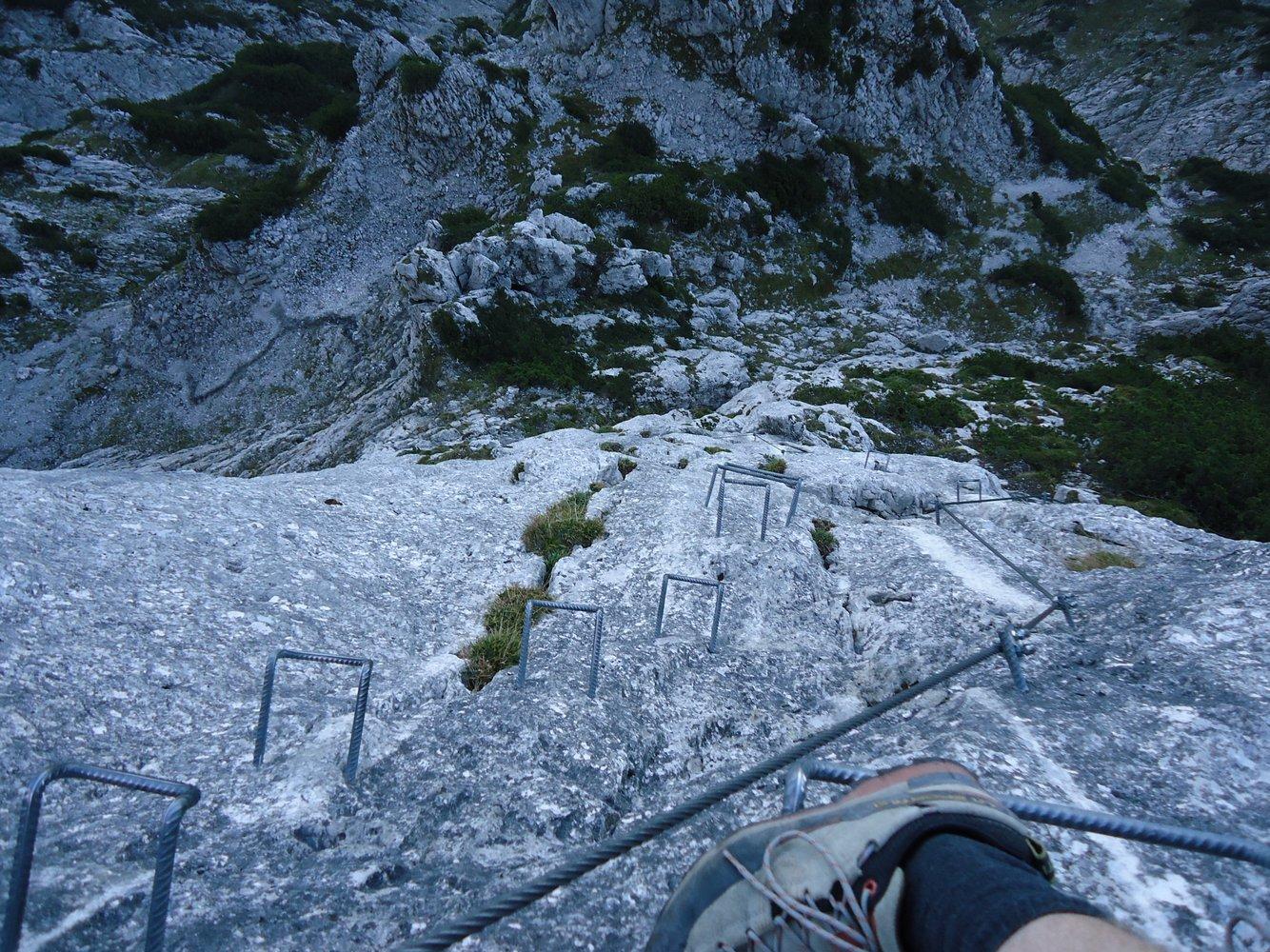 Pidinger Klettersteig : Pidinger klettersteig bergsteigen