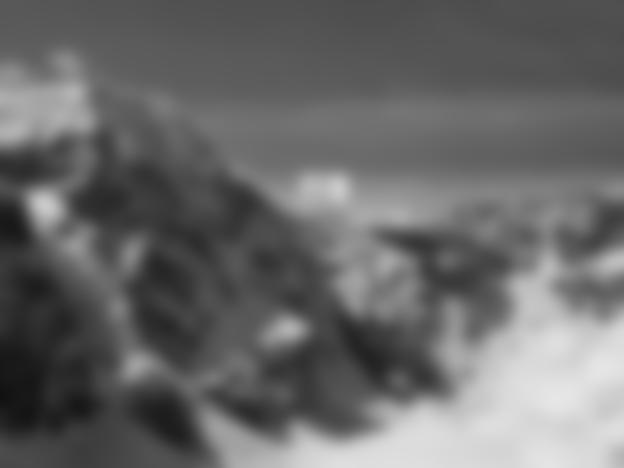 Monte Zebru mit Anstieg zum Hochjoch und Cantu-Biwak
