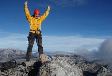 am höchsten Punkt zwischen Himalaja und Anden