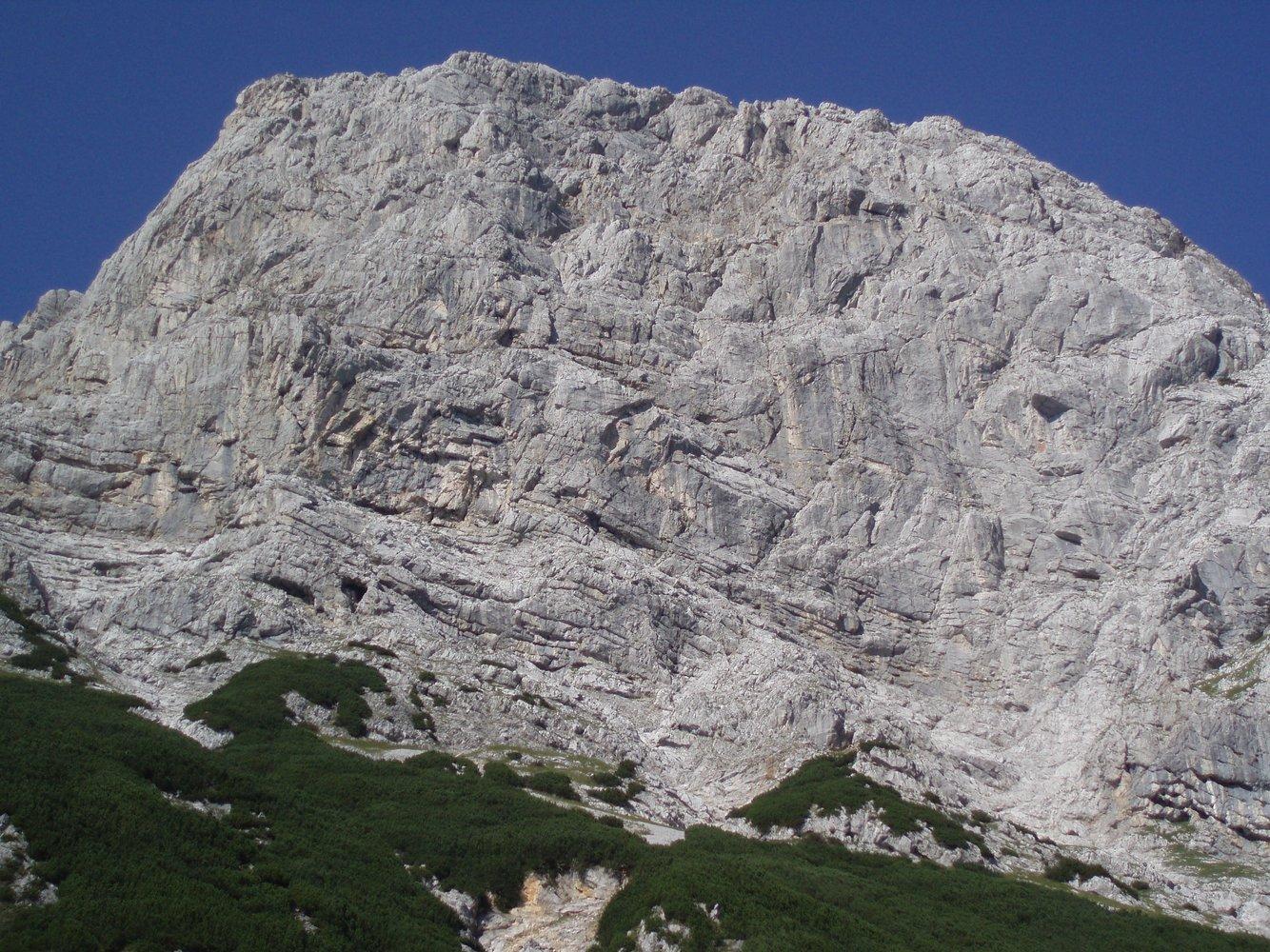 Klettersteig Buchstein : Südwandband klettersteig buchstein bergsteigen.com