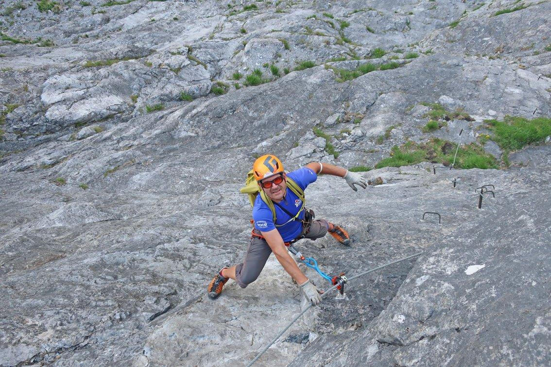 Klettersteig Fallbach : Klostertaler klettersteig am fallbach bergsteigen.com