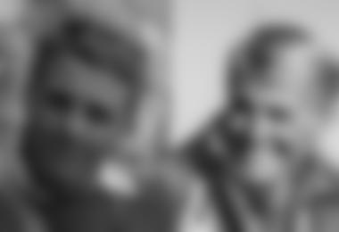 Peter Habeler mit 25 und mit 77 Jahren; Foto links Otti Wiedmann; Foto rechts Archiv Peter Habele