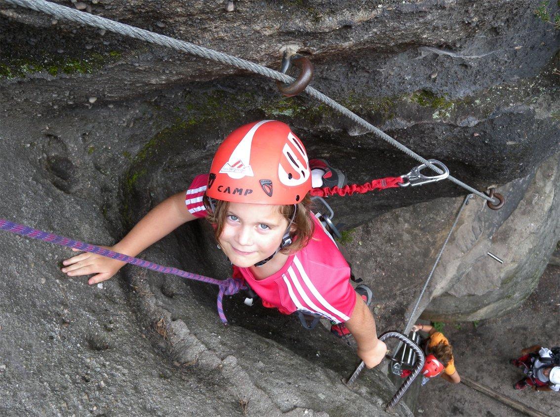 Klettersteigset Für Kinder : Test klettersteigsets für kinder bergsteigen