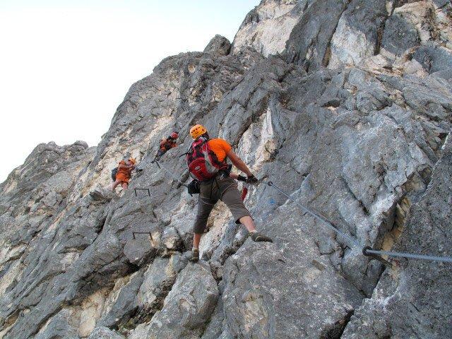 Klettersteig Alpspitze : Mauerläufersteig klettersteig alpspitze bergsteigen.com