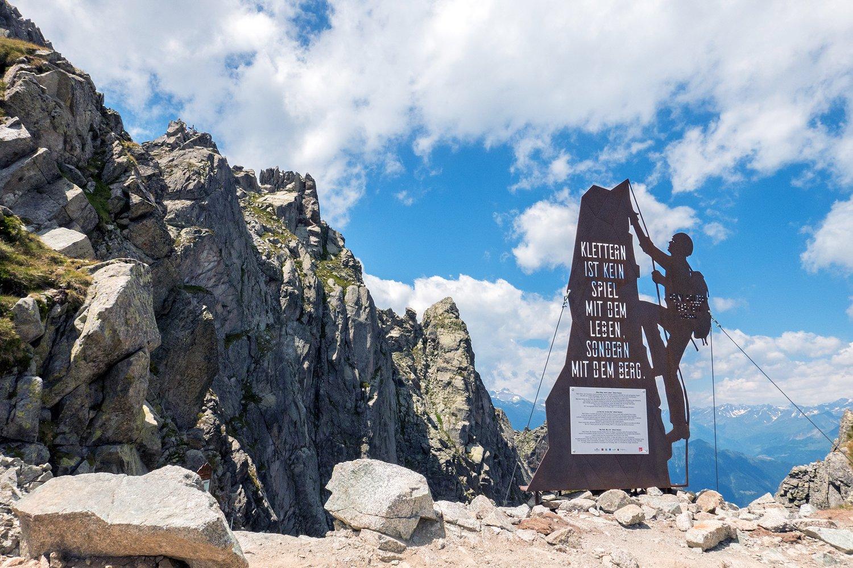 Klettersteig Ifinger : Geführte klettersteigwanderung auf dem heini holzer klettersteig