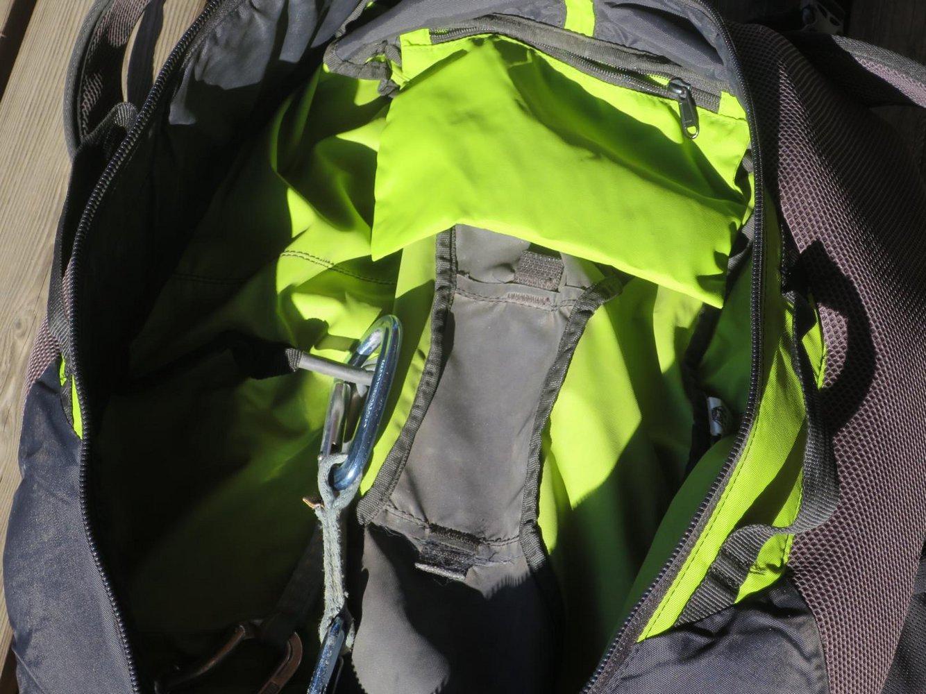 Kletterausrüstung Verstauen : Test camp roxback u2013 rucksack bergsteigen.com