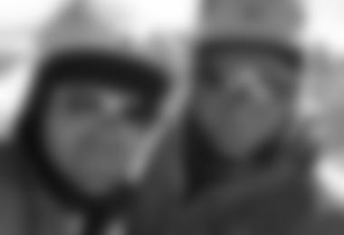Markus Pucher und Toni Ponholzer auf dem Gipfel des Fitz Roy