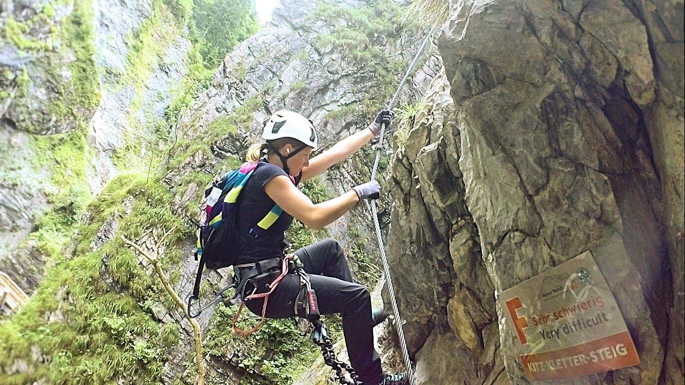 Klettersteigset Hervis : Kitzklettersteig bergsteigen.com