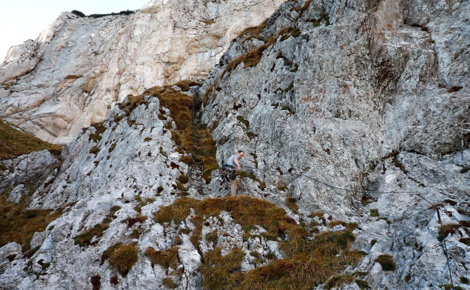 Klettersteig Rax : Reißtalersteig und gretchensteig rax bergsteigen