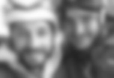 Patrick Seiwald  und Simon Gietl nach der Erstbegehung von Räuber Hotzenplotz (c) Simon Gietl