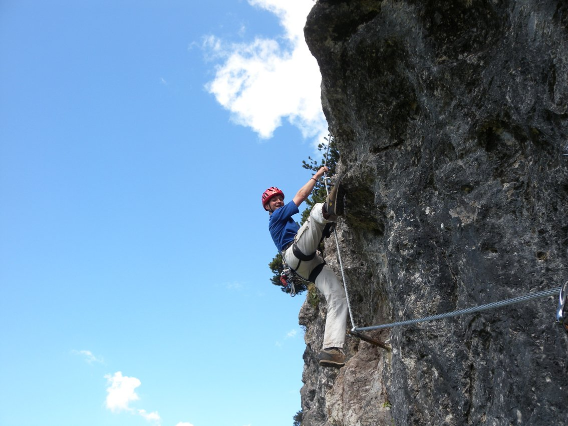 Klettersteig Walchsee : Ottenalm direttissima klettersteig bergsteigen