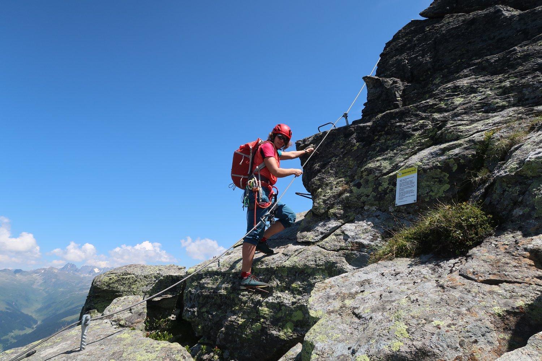 Klettersteig Quarzit Wand : Klettersteig burg rechberg u kreis göppingen mannis fotobude