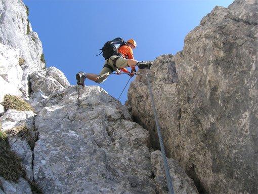 Klettersteig Untersberg : Berchtesgadener hochthronsteig hochthron klettersteig