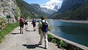 Laserer Alpin Klettersteig : Laserer alpin klettersteig: klettersteig gosausee 2
