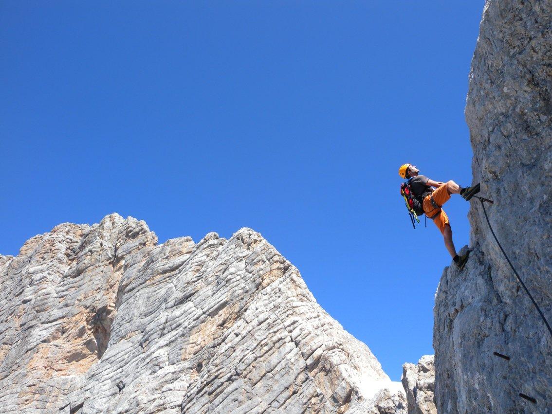 Klettersteig Johann : Johann klettersteig dachstein