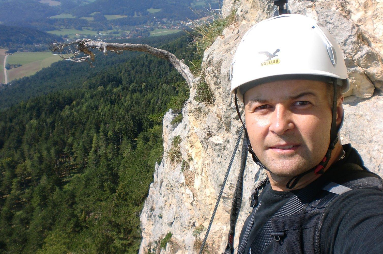 Klettersteig Wien Umgebung : Gebirgsvereins klettersteig bergsteigen.com