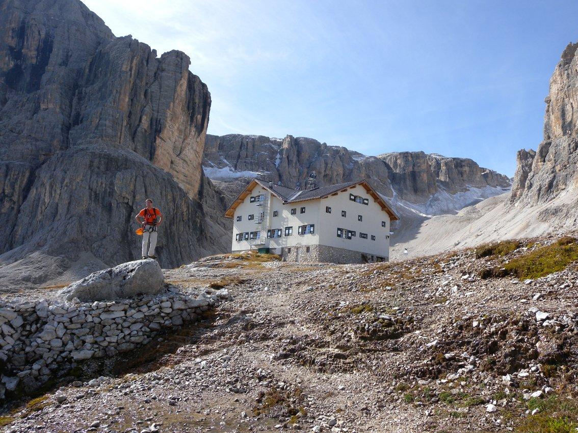 Klettersteig Pisciadu : Pisciadu klettersteig sella gruppe bergsteigen