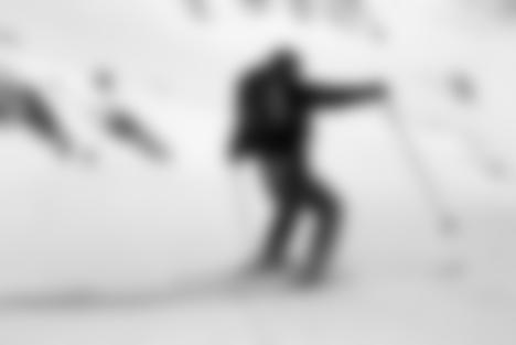 Skiabfahrt