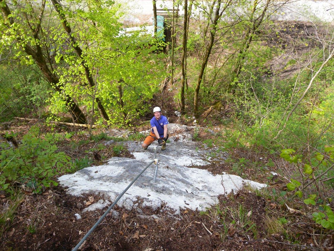 Tree Rider Klettergurt : Wilde gams klettersteig bergsteigen.com
