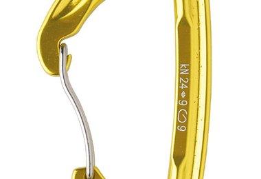 Gelb eloxiert – Wire (Drahtbügel-Verschluss)