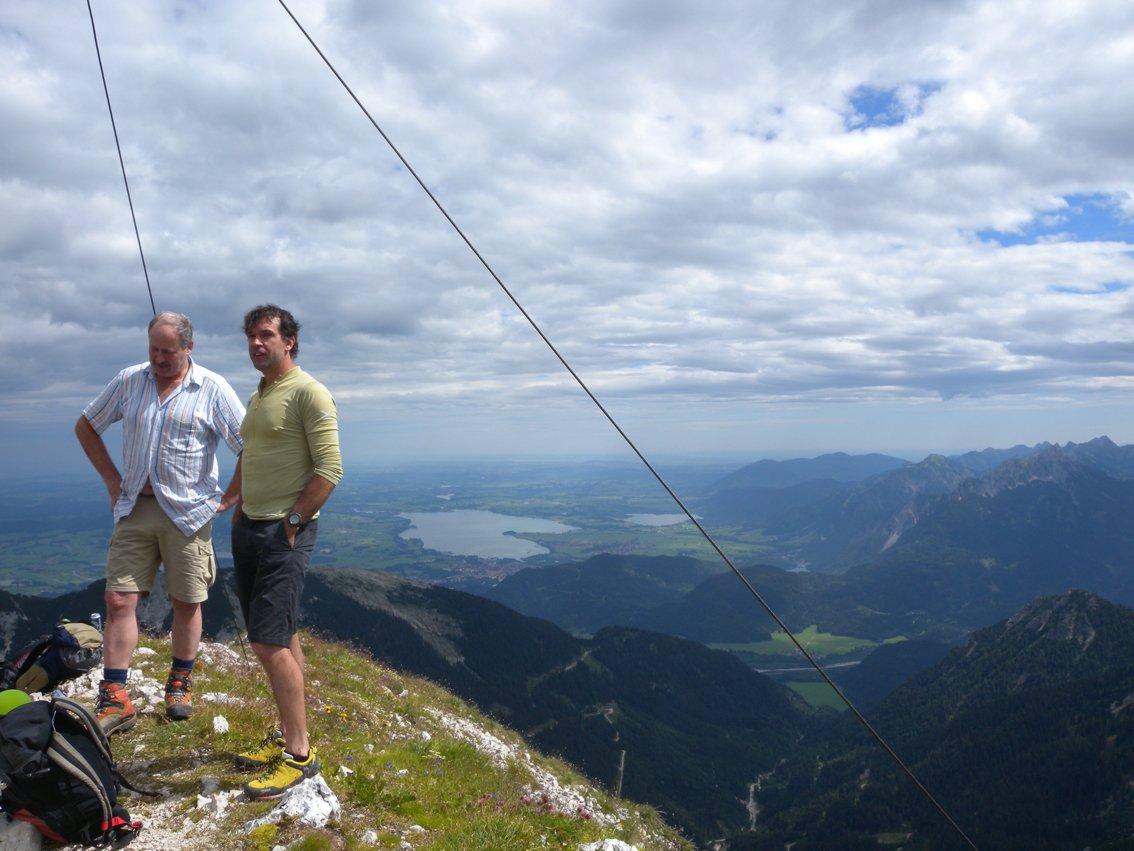 Klettersteig Köllenspitze : Köllenspitze klettersteig bergsteigen
