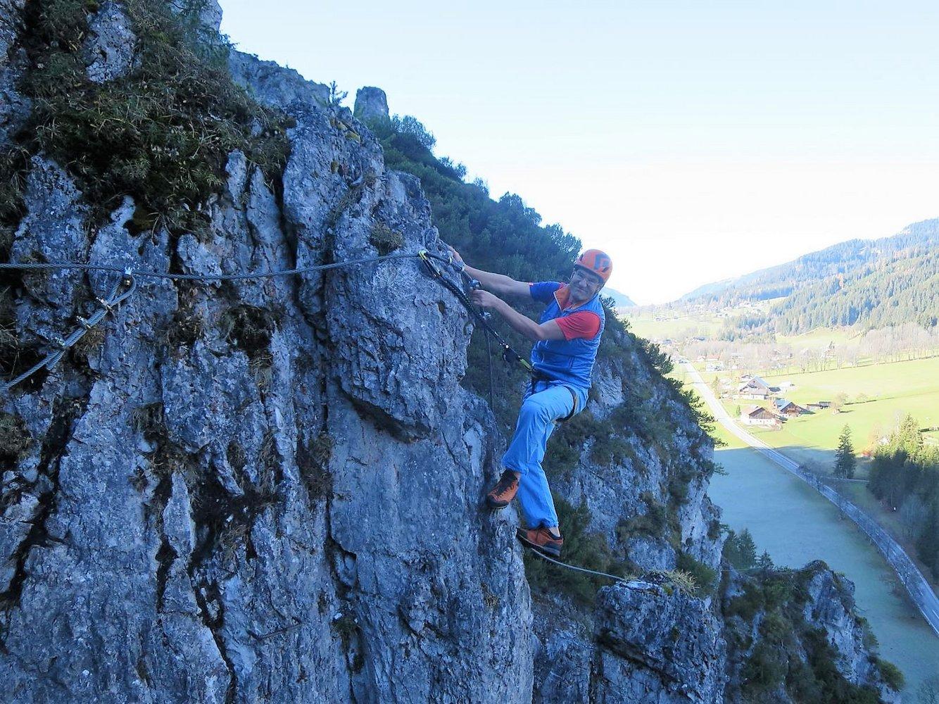 Klettersteig Ramsau : Ramsauer klettersteig u scheichenspitze zustieg alpenyeti s