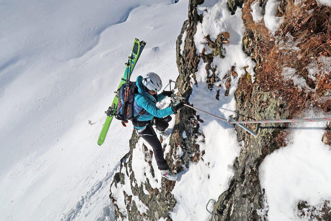 Klettersteig Für Kinder : Hochzillertal winterklettersteig kinder bergsteigen.com