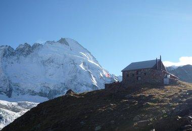 Blick zur Matterhorn-Nordwand