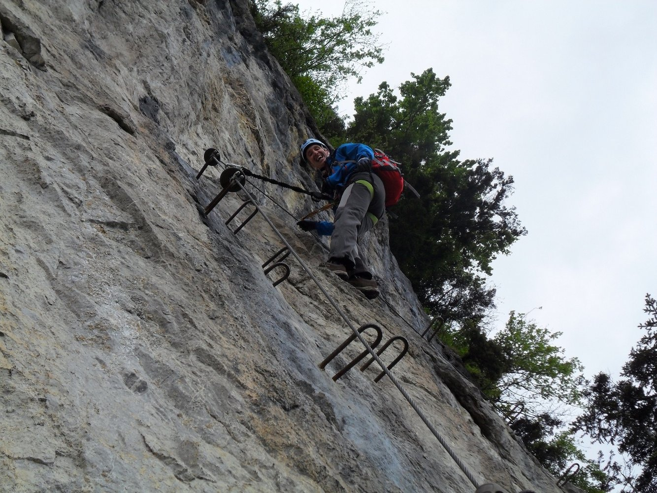 Via Kessi Klettersteig : Via kessi klettersteig bergsteigen